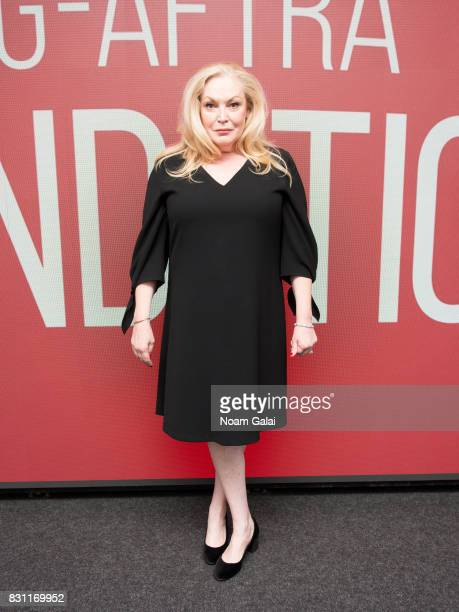 Actress Cathy Moriarty visits SAGAFTRA Foundation to discuss Patti Cake$ at SAGAFTRA Foundation Robin Williams Center on August 13 2017 in New York...