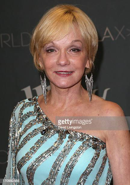 Actress Cathy Rigby attends the grand opening of the new Tom Bradley International Terminal at LAX Airport presented by Los Angeles World Airports...