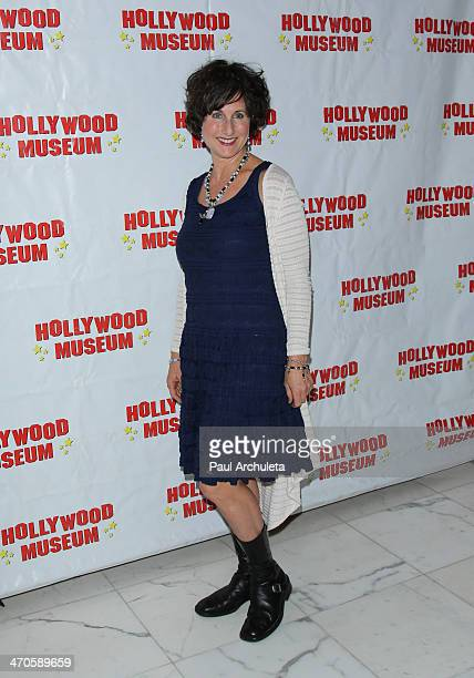 Actress Cathy Silvers attends the Hollywood Museum's celebration of entertainment awards exhibit opening at The Hollywood Museum on February 19 2014...