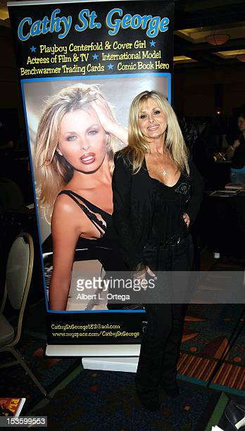 Actress Cathy St George participates in The Hollywood Show held at Burbank Airport Marriott Hotel Convention Center on October 6 2012 in Burbank...