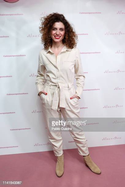 Actress Cayetana Cabezas attends the concert of Nancys Rubias at Barcelo Theater on April 09 2019 in Madrid Spain