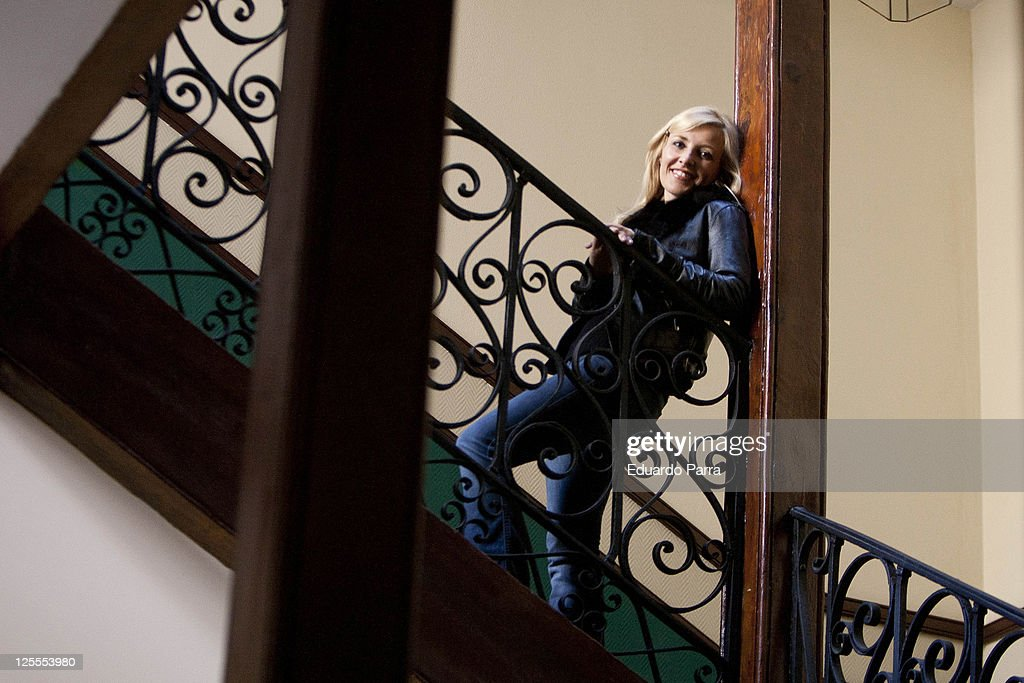 Actress Cayetana Guillen Cuervo attends a portrait session before Los Miserables photocall at Marques Viudo de Pontejos street on November 18, 2010 in Madrid, Spain.