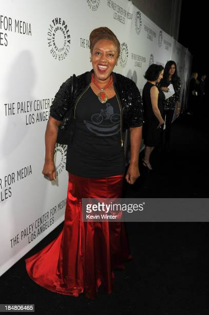 Actress CCH Pounder arrives at The Paley Center for Media's 2013 benefit gala honoring FX Networks with the Paley Prize for Innovation Excellence at...