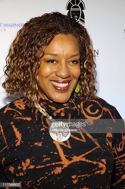 Actress CCH Pounder attends the Pan African Film Arts Festival Opening Night Gala at the Directors Guild Theatre on February 10 2010 in West...