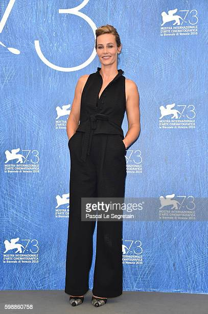 Actress Cécile de France attends the photocall of 'The Young Pope' during the 73rd Venice Film Festival at on September 3 2016 in Venice Italy