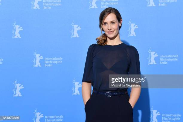 Actress Cecile de France attends the 'Django' photo call during the 67th Berlinale International Film Festival Berlin at Grand Hyatt Hotel on...