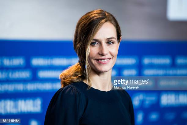 Actress Cecile de France attends the 'Django' press conference during the 67th Berlinale International Film Festival Berlin at Grand Hyatt Hotel on...