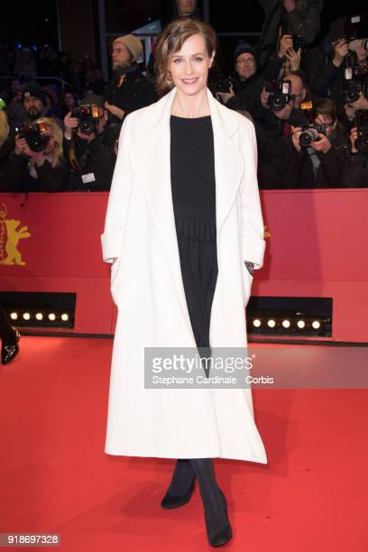 Actress Cecile De France attends the Opening Ceremony 'Isle of Dogs' premiere during the 68th Berlinale International Film Festival Berlin at...