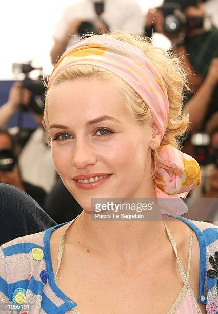 Actress Cecile De France attends the ''Quand J'etais Chanteur' photocall during the 59th International Cannes Film Festival May 26 2006 in Cannes...