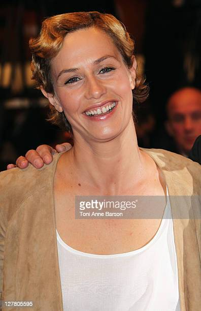 Actress Cecile de France attends the The Kid With The Bike Premiere at the Palais des Festivals during the 64th Cannes Film Festival on May 15 2011...