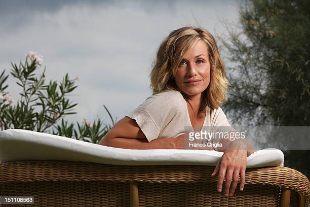 Actress Cecile de France from the film 'Superstar' poses during the 69th Venice Film Festival at the Casa degli Autori on August 30 2012 in Venice...