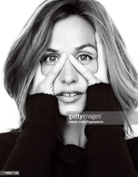 107274003 Actress Cecile de France is photographed for Madame Figaro on July 20 2013 in Paris France Shirt PUBLISHED IMAGE CREDIT MUST READ Matias...