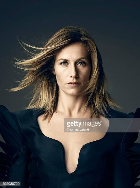 Actress Cecile de France is photographed for Self Assignment on January 17 2013 in Paris France