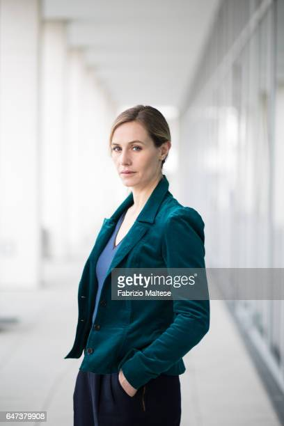 Actress Cecile de France is photographed for The Hollywood Reporter on February 13 2017 in Berlin Germany