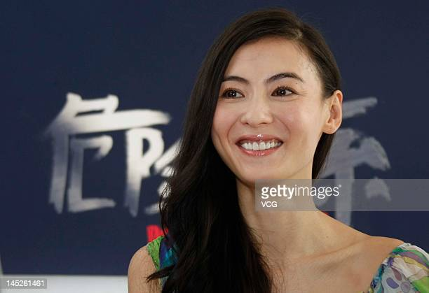 Actress Cecilia Cheung attends Dangerous Liaisons premiere during the 65th Annual Cannes Film Festival on May 24 2012 in Cannes France