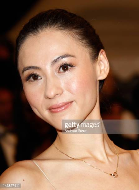 Actress Cecilia Cheung attends the Donui Mat premiere during the 65th Annual Cannes Film Festival at Palais des Festivals on May 26 2012 in Cannes...