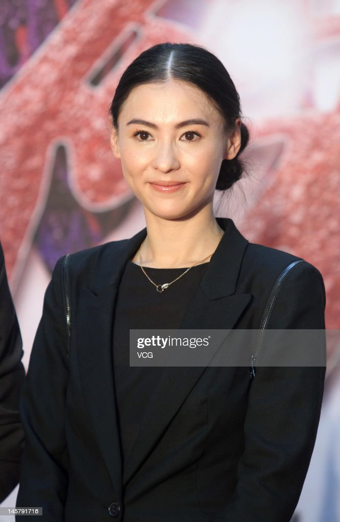 Actress Cecilia Cheung Attends Tv Drama -8264