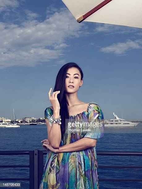 Actress Cecilia Cheung is photographed for Self Assignment on May 24 2012 in Cannes France