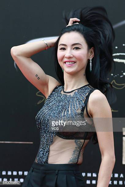 Actress Cecilia Cheung PakChi attends the press conference of film Out of Control during the 19th Shanghai International Film Festival on June 14...