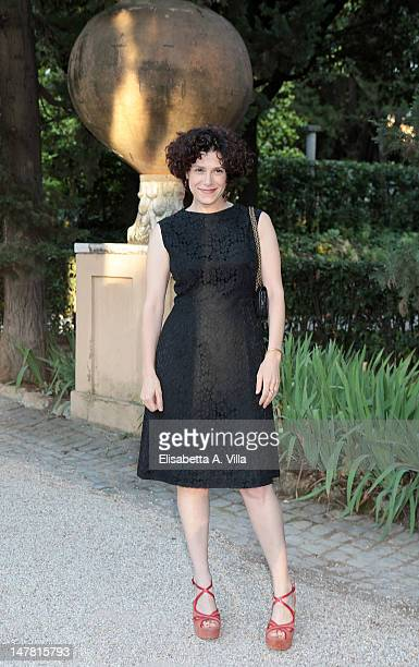 Actress Cecilia Dazzi attends 2012 Globo d'Oro Italian Golden Globes Award at Villa Massimo on July 3 2012 in Rome Italy