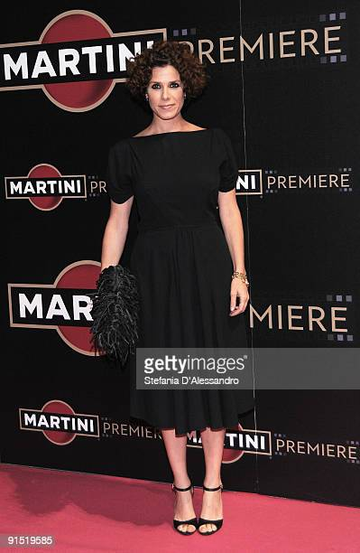 Actress Cecilia Dazzi attends Martini Premiere Award Ceremony at Palazzo Reale on October 6 2009 in Milan Italy