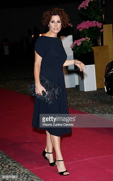 Actress Cecilia Dazzi attends the Martini Premiere Award Ceremony Red Carpet at Palazzo Reale on October 6 2009 in Milan Italy