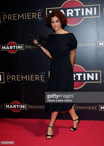 Actress Cecilia Dazzi attends the Martini Premiere Award Ceremony - Red Carpet at Palazzo Reale on October 6, 2009 in Milan, Italy.