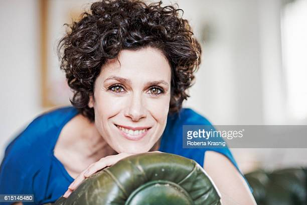 Actress Cecilia Dazzi is photographed for Self Assignment on April 12, 2016 in Rome, Italy.