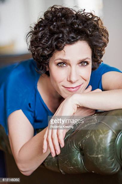Actress Cecilia Dazzi is photographed for Self Assignment on April 12 2016 in Rome Italy