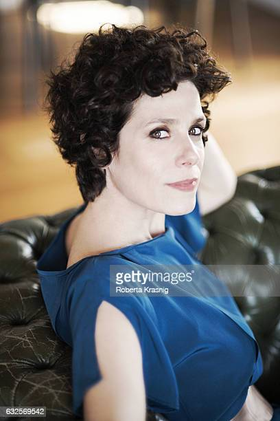 Actress Cecilia Dazzi is photographed for Self Assignment on April 16, 2016 in Rome, Italy.