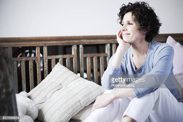 Actress Cecilia Dazzi is photographed for Self Assignment on April 16 2016 in Rome Italy