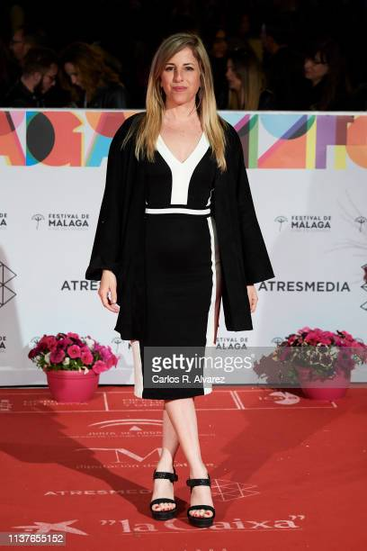 Actress Cecilia de Molina attends the 'Retrospeciva' award ceremony during the 22th Malaga Film Festival on March 22 2019 in Malaga Spain
