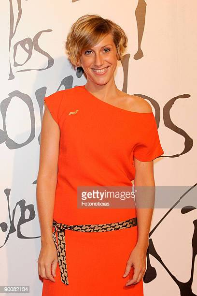Actress Cecilia Freire attends Maps of the Sounds of Tokyo premiere held at Callao Cinema on August 25 2009 in Madrid Spain