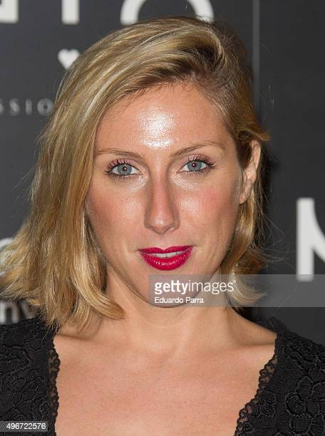 Actress Cecilia Freire attends NYX Make Up party photocall at Chamartin space on November 11 2015 in Madrid Spain