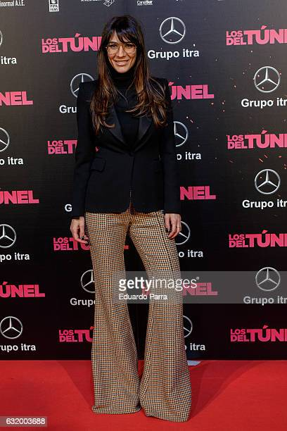 Actress Cecilia Gessa attends 'Los del Tunel' premiere at Capitol cinema on January 18 2017 in Madrid Spain