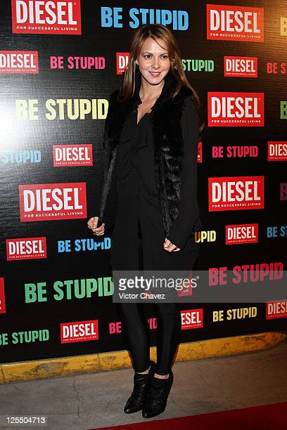 Actress Cecilia Ponce attends the Diesel Be Stupid Party at General Prim on December 2 2010 in Mexico City Mexico
