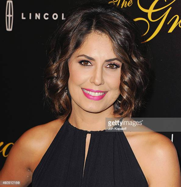 Actress Cecilia Vega arrives at the 39th Annual Gracie Awards at The Beverly Hilton Hotel on May 20 2014 in Beverly Hills California