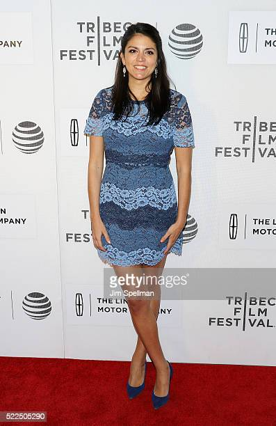Actress Cecily Strong attends the 2016 Tribeca Film Festival The Meddler premiere at John Zuccotti Theater at BMCC Tribeca Performing Arts Center on...