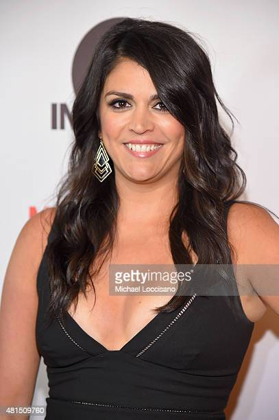 Actress Cecily Strong attends the 'Staten Island Summer' New York Premiere at Sunshine Landmark on July 21 2015 in New York City