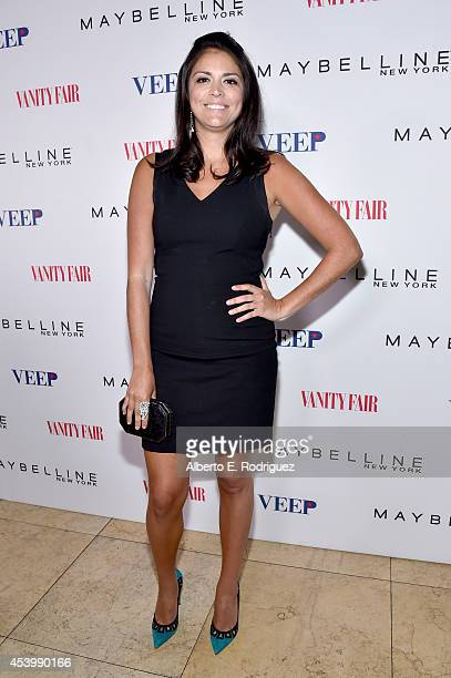 Actress Cecily Strong attends the Vanity Fair and Maybelline New York toast of the EmmyNominated 'VEEP' on August 22 2014 in West Hollywood California