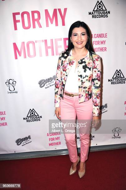 Actress Celeste Thorson arrives for a luncheon in honor of Mother's Day for the release of Pamela L Newton's 'A Candle For My Mother' held at Los...