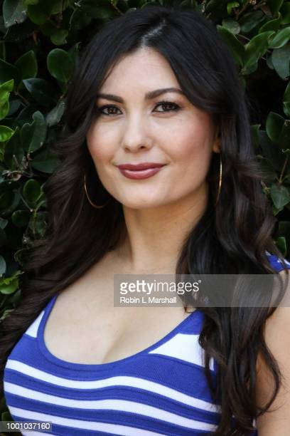 Actress Celeste Thorson attends Regard Magazine's celebration of the ESPY Awards and their Special Annual Sports Edition at private residence on July...