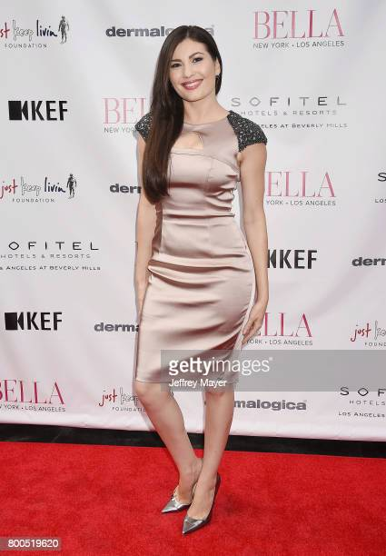 Actress Celeste Thorson attends the BELLA Los Angeles Summer Issue Cover Launch Party at Sofitel Los Angeles At Beverly Hills on June 23 2017 in Los...