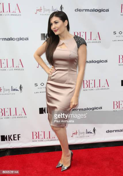 Actress Celeste Thorson attends the BELLA Magazine Los Angeles summer Issue launch party at the Sofitel Los Angeles At Beverly Hills on June 23 2017...