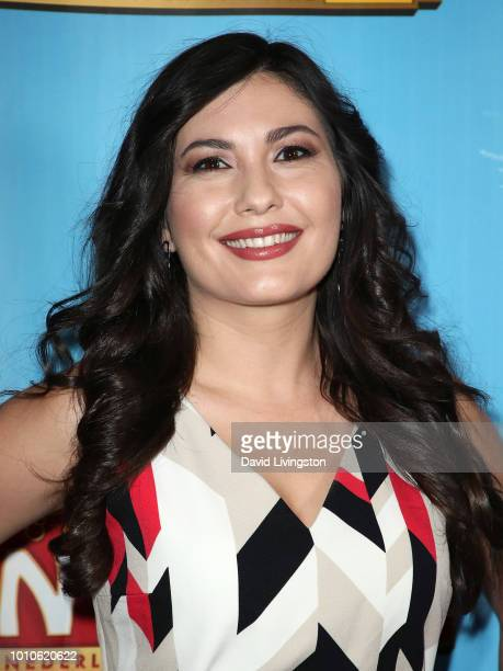 Actress Celeste Thorson attends the national tour of Waitress Los Angeles engagement celebration at the Hollywood Pantages Theatre on August 3 2018...