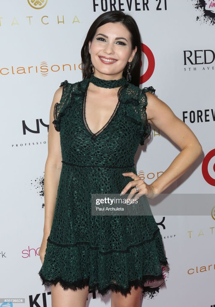 Actress Celeste Thorson attends the NYX Professional Makeup's 6th Annual FACE Awards at The Shrine Auditorium on August 19, 2017 in Los Angeles, California.