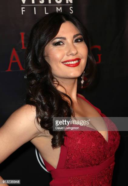 Actress Celeste Thorson attends the premiere of Living Among Us at Ahrya Fine Arts Theater on February 1 2018 in Beverly Hills California