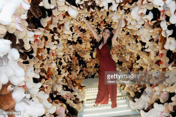 Actress Celeste Thorson attends the VIP Launch Party For FUNBOX held at The Oaks on October 11 2018 in Thousand Oaks California