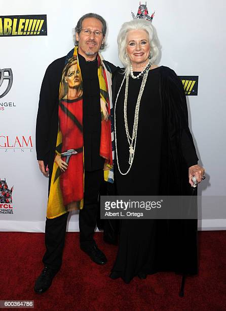 Actress Celeste Yarnall and husband Nazim Artist arrive for the Premiere Of 'UNBELIEVABLE' held at TCL Chinese 6 Theatres on September 7 2016 in...