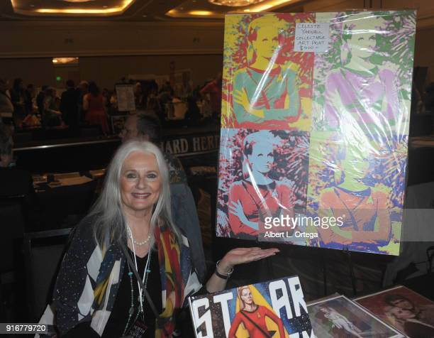 Actress Celeste Yarnall attends The Hollywood Show held at Westin LAX Hotel on February 10 2018 in Los Angeles California